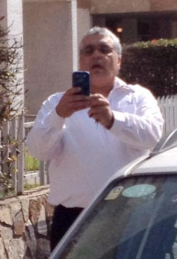 """העוקב, המטריד ממשרדו של עו""""ד לינצר שמואל, נתפס כשהוא מצלם את גולדנברג"""